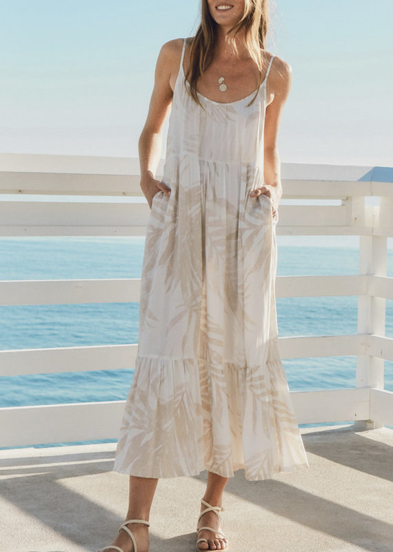 Palm lido maxi dress