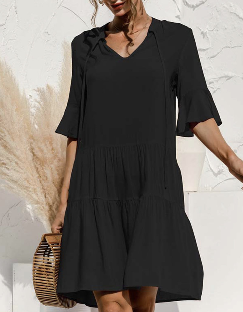 Sienna tier dress