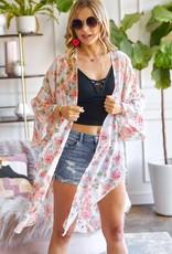 Sister chiffon kimono