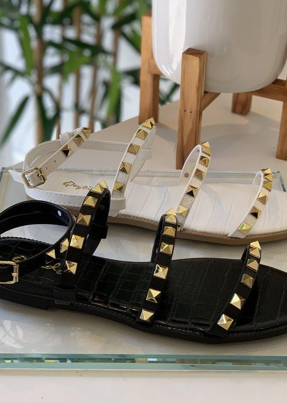 Qupid Stud sandal