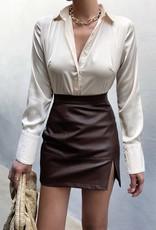Runaway Muze mini skirt