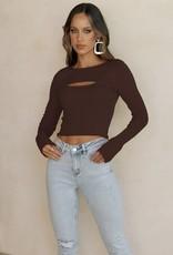 Runaway Camari knit top