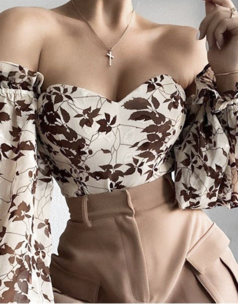 Gia bustier top