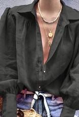 Raquel sheer blouse