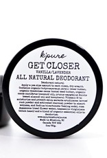 K'pure Get Closer -all natural deodorant