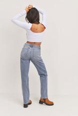 Full length straight