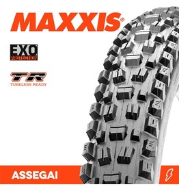 """MAXXIS TYRE MAXXIS ASSEGAI 27.5 X 2.50"""" TR EXO FOLD 60TPI"""