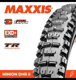"""MAXXIS MAXXIS MINION DHR II 29 X 2.40"""" TR WT EXO+ 3C MAXX TERRA FOLD 120TPI TYRE"""