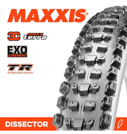 """MAXXIS MAXXIS DISSECTOR 27.5 X 2.40"""" WT 3C TERRA EXO TR FOLD 60TPITYRE"""