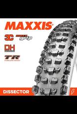 """MAXXIS MAXXIS DISSECTOR 27.5 X 2.40"""" WT 3C MAXX GRIP DH TR FOLD 60X2TPI TYRE"""