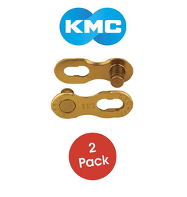 KMC KMC CHAIN MISSING LINK 11 SPEED GOLD EACH