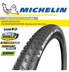 """MICHELIN TYRE MICHELIN JET XCR COMPETITION 29x2.25"""" FOLD"""