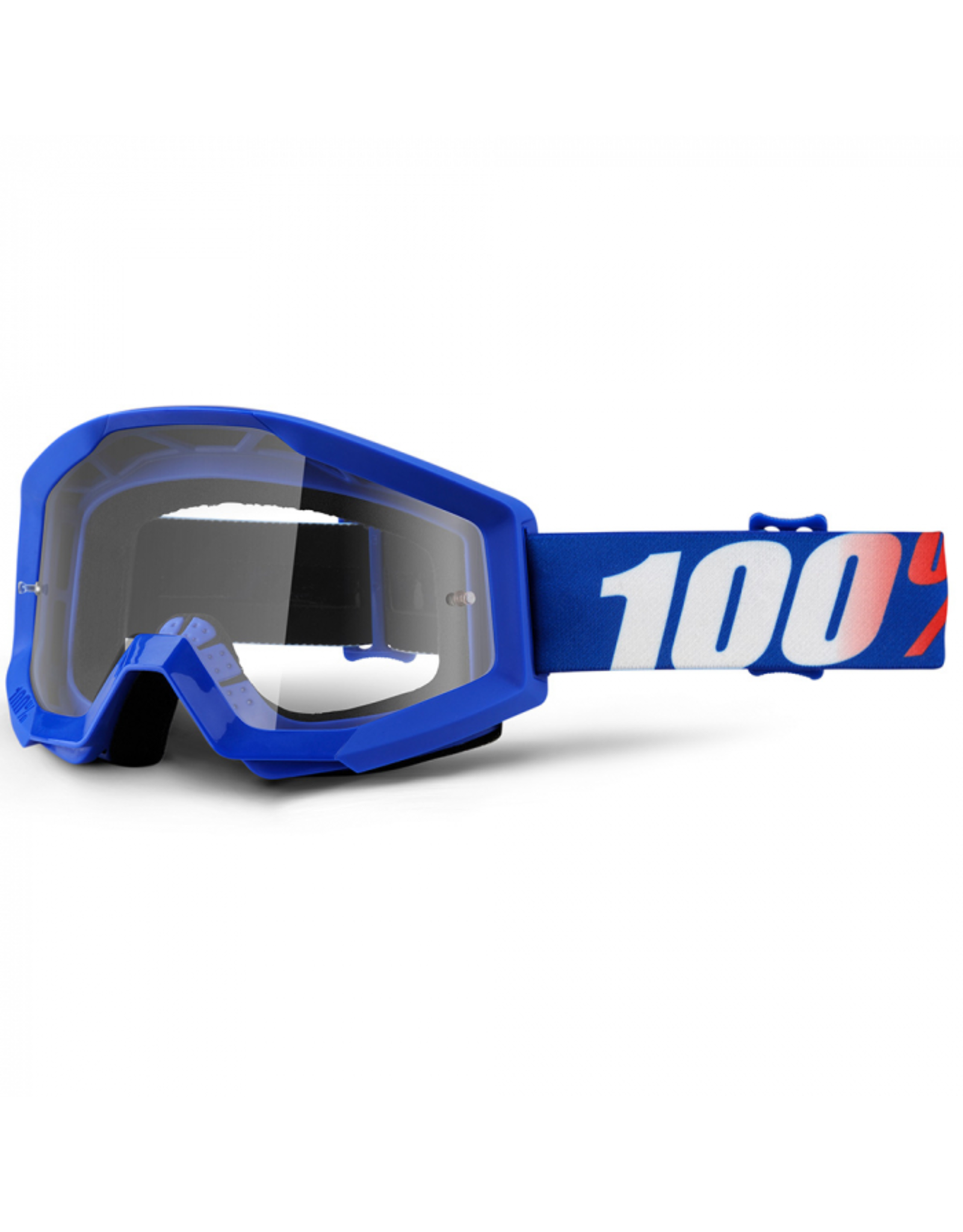 100% GOGGLES 100% STRATA CLEAR LENS NATION