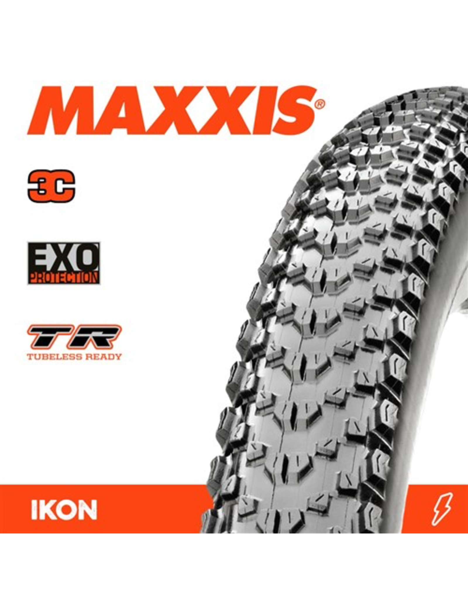 "MAXXIS TYRE MAXXIS IKON 29 X 2.35"" TR 3C SPEED EXO FOLD 120 TPI"