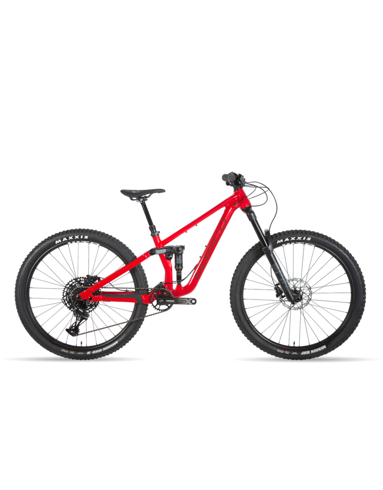"NORCO NORCO YOUTH 27.5"" SIGHT JNR FS SLATE CANDY APPLE RED/BLOOD RED"