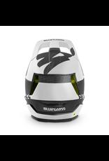 BLUEGRASS HELMET BLUEGRASS LEGIT CARBON MTB/BMX W/MIPS MATT BLACK/WHITE