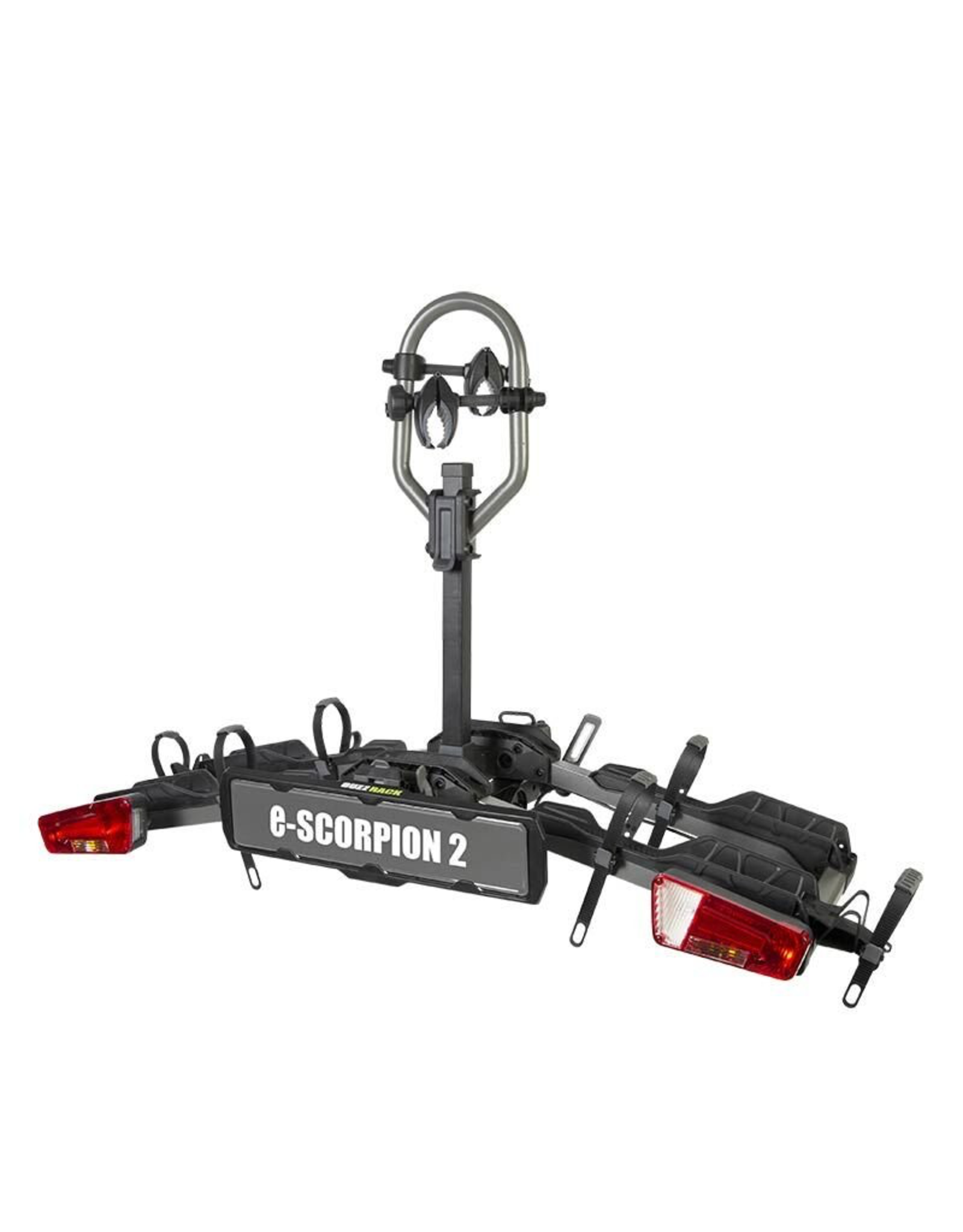BUZZRACK CAR RACK BUZZRACK SCORPION PLATFORM RACK 2 BIKE RACK FOR E/FAT BIKES TOW BALL MOUNT