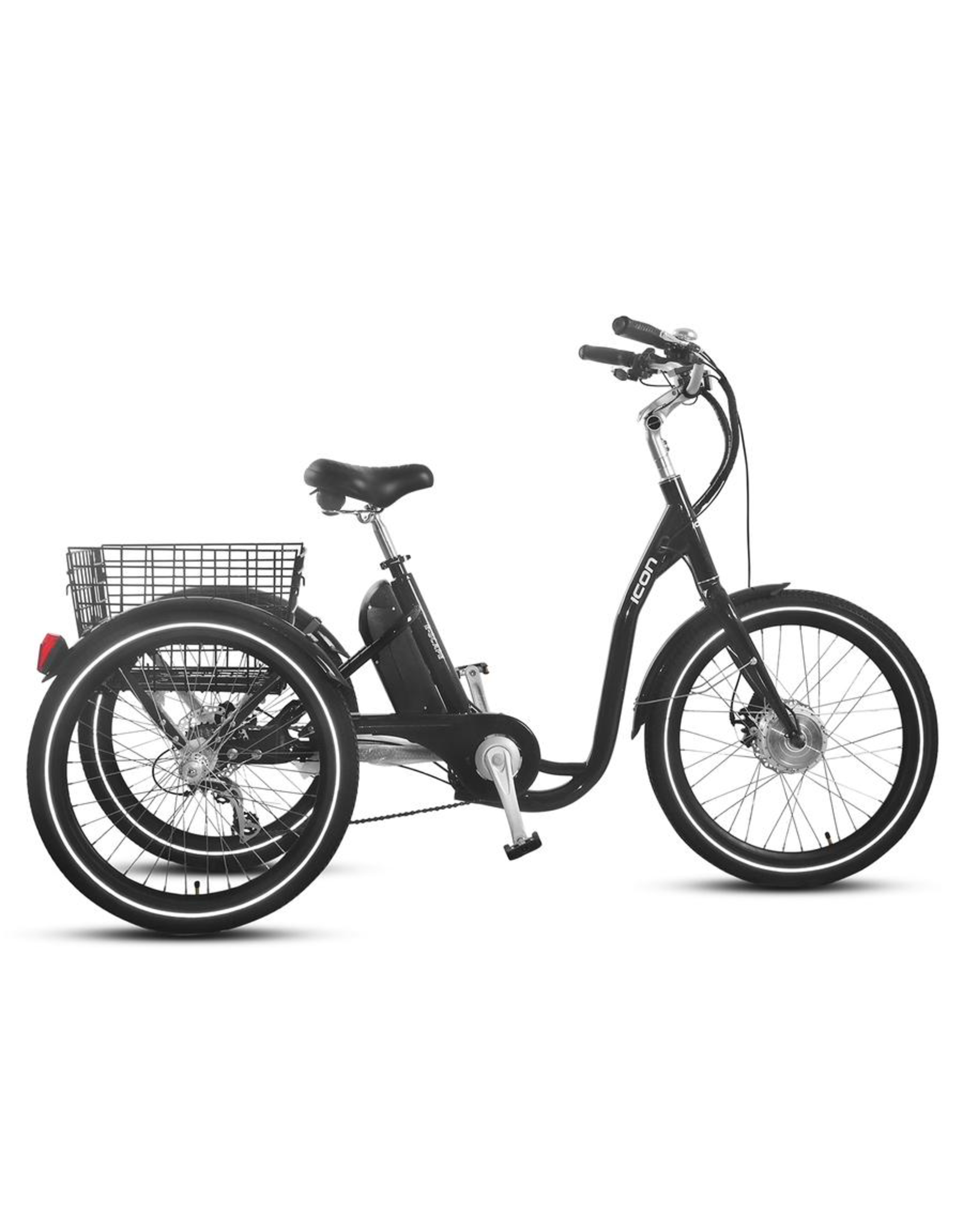 "XDS XDS ICON E-SCAPE 24"" 7-SPEED E-TRIKE GREY"