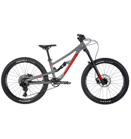 "NORCO NORCO YOUTH 24"" FLUID 4.2 FS CHARCOAL GREY/CANDY APPLE RED"