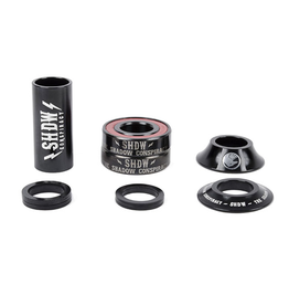 TSC BOTTOM BRACKET TSC STACKED MID 22MM BMX KIT BLACK