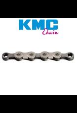KMC KMC CHAIN X10 10 SPEED X SERIES 116L SILVER GREY