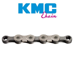 KMC CHAIN KMC X10 10 SPEED X SERIES 116L SILVER GREY