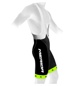 MERIDA BIB SHORTS MERIDA BLACK/GREEN