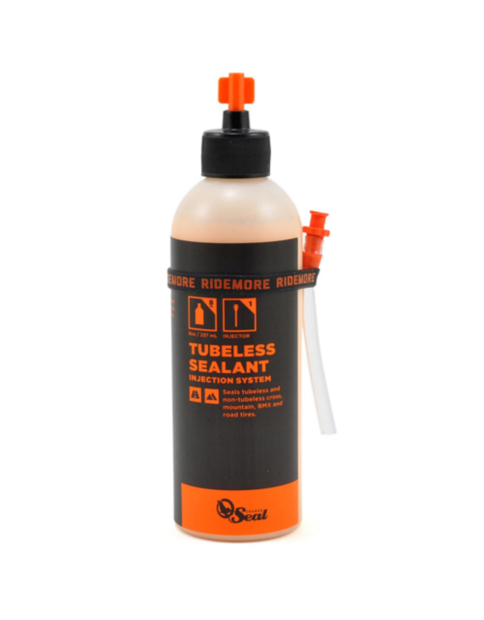 ORANGE SEAL TYRE SEALANT ORANGE SEAL REGULAR 8OZ (236ml) WITH INJECTION NEEDLE