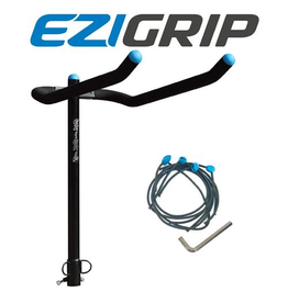 EZI GRIP CAR RACK EZIGRIP 4-BIKE TOWBALL MOUNTED BIKE CARRIER INC. BUNGEE PACK
