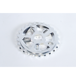 DIVISION BMX SPROCKET DIVISION FORCE 28T POLISHED SILVER