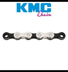 KMC CHAIN KMC X11 11 SPEED 116 LINK SILVER BLACK ROAD/MTB