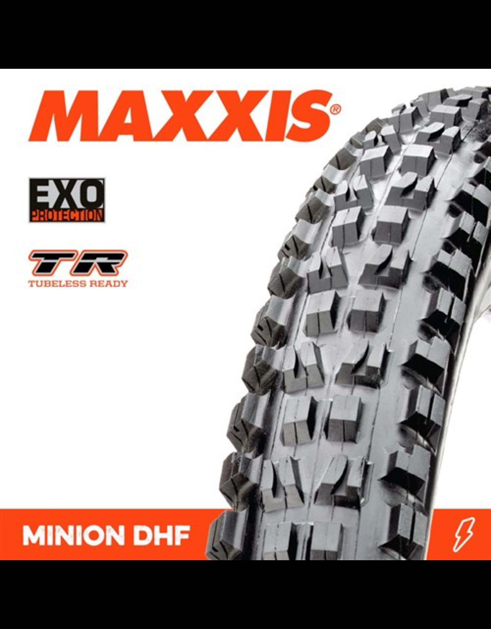 "MAXXIS MAXXIS MINION DHF 27.5 X 2.50"" WT TR EXO FOLD 60TPI TYRE"