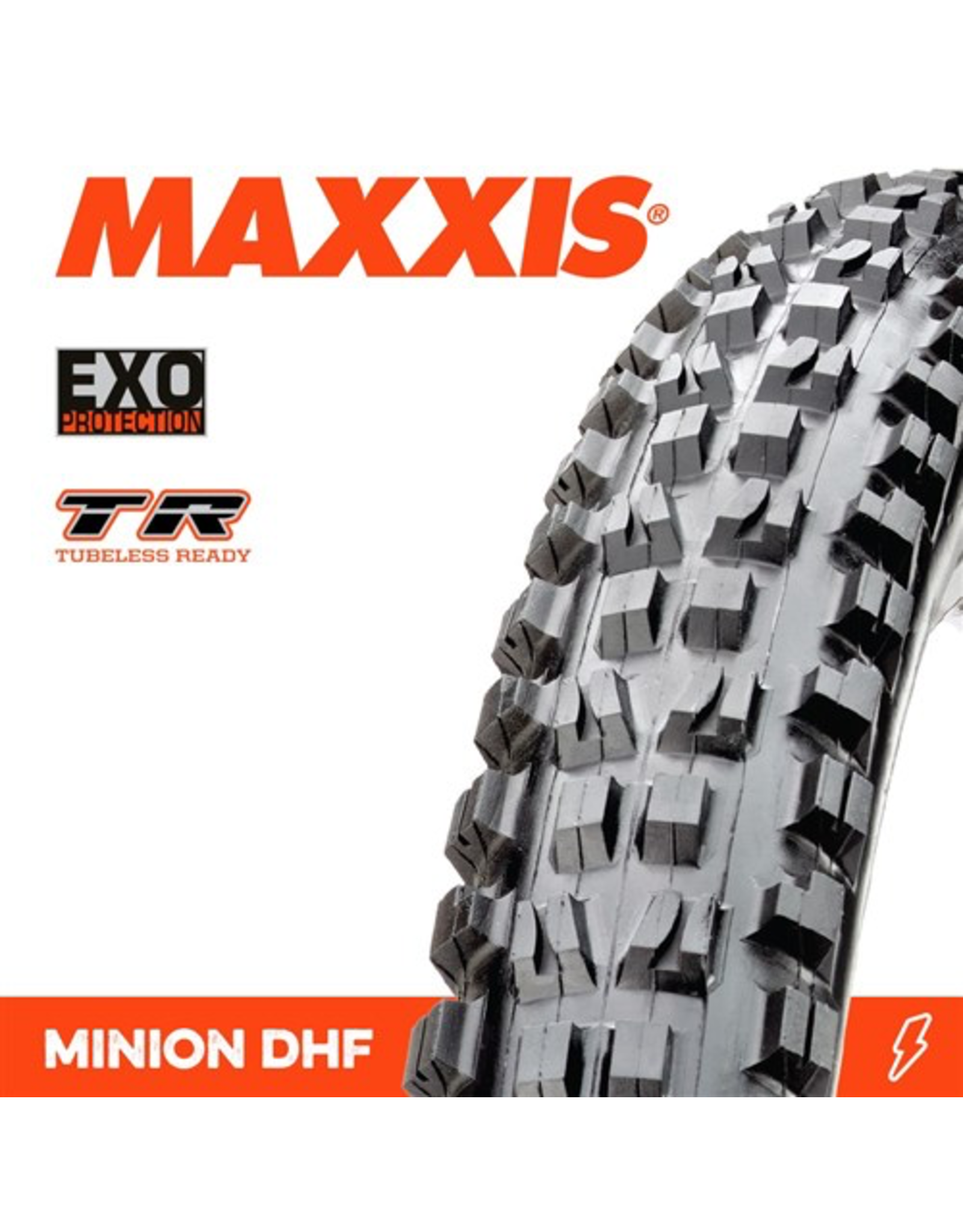 "MAXXIS MAXXIS MINION DHF 29 X 2.30"" TR EXO FOLD 60TPI TYRE"