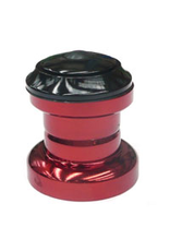 """BULLETPROOF HEADSET 1-1/8"""" A-HEAD SEALED BEARING RED SCOOTER"""