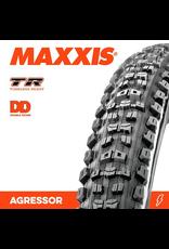 """MAXXIS MAXXIS AGGRESSOR 27.5 X 2.50"""" WT TR DD FOLD 120TPI TYRE"""