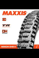 """MAXXIS MAXXIS MINION DHR II 27.5 X 2.40"""" TR WT DH 3C MAXX GRIP FOLD 60X2 TPI TYRE"""
