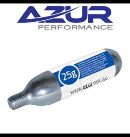 AZUR PUMP AZUR CO2 25 GRAM THREADED AIR CARTRIDGE