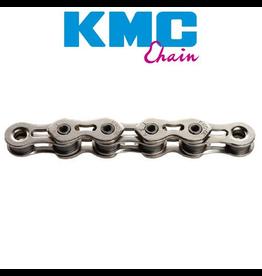 "KMC KMC CHAIN K1 1/2X3/32"" SINGLE SPEED 112L SILVER"