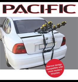 Pacific CAR RACK PACIFIC BOOT RACK 3 BIKE CARRIER - NARROW