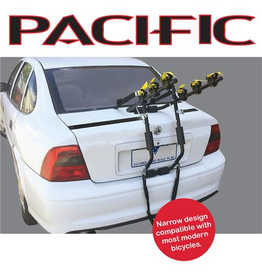 Pacific PACIFIC CAR RACK BOOT RACK 3 BIKE CARRIER - NARROW