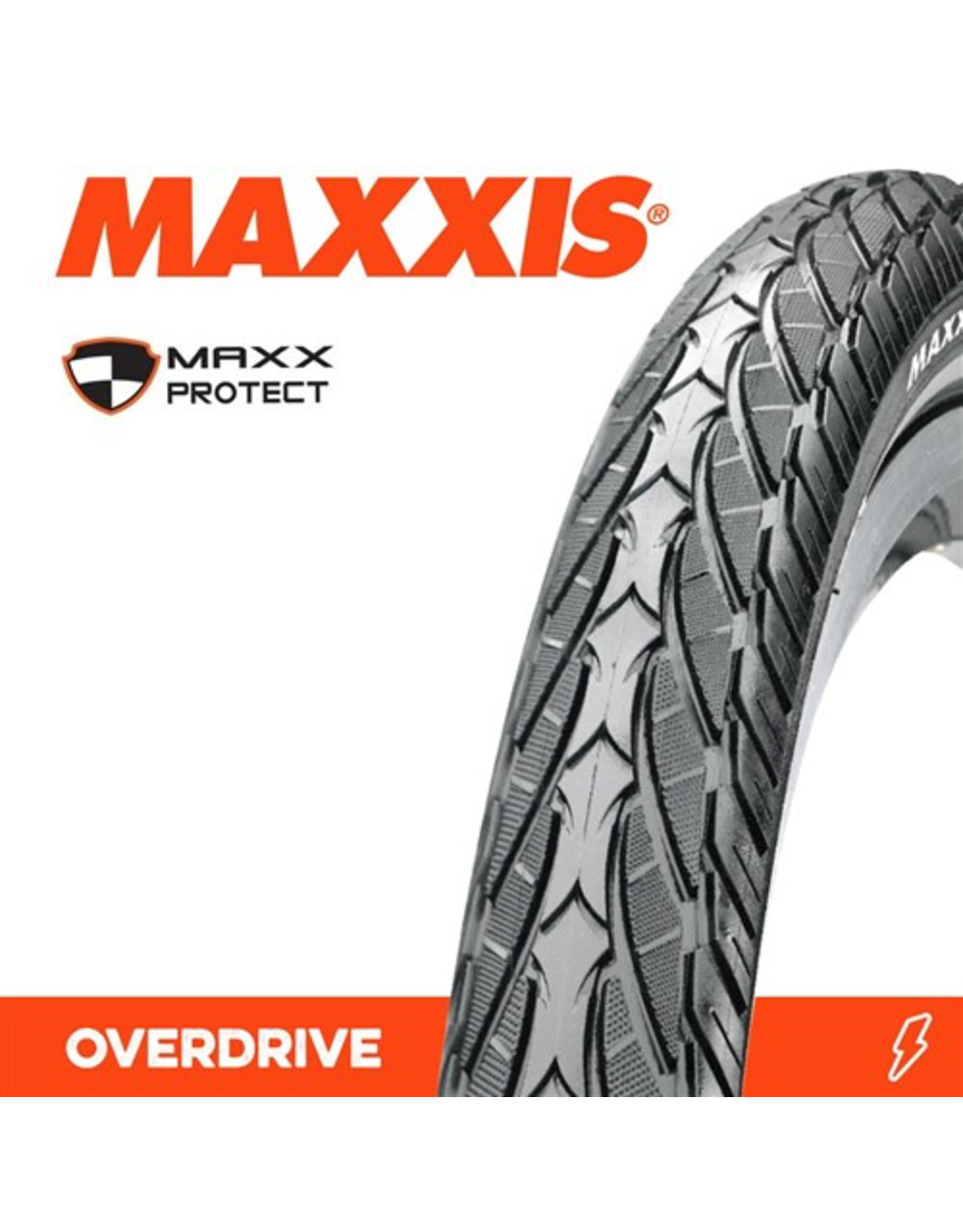 MAXXIS MAXXIS OVERDRIVE 26 X 1.75 MAXX PROTECT WIRE 27 TPI TYRE