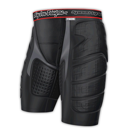 TROY LEE DESIGNS KNICKS (PADDED) TLD LPS 7605 SHORT BLACK