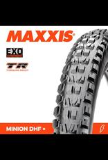 "MAXXIS MAXXIS MINION DHF 27.5 X 2.80"" TR EXO FOLD 60TPI (PLUS SIZE) TYRE"