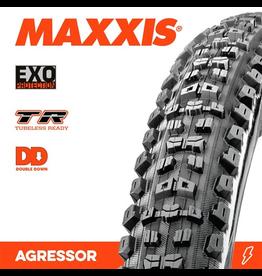 """MAXXIS MAXXIS AGGRESSOR 29 x 2.30"""" TR DD FOLD TYRE 120TPI"""