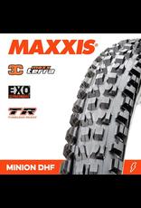 """MAXXIS MAXXIS MINION DHF 29 X 2.50"""" WT TR EXO 3C MAXX TERRA FOLD 60TPI TYRE"""