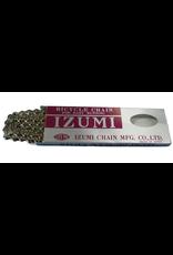 "IZUMI CHAIN IZUMI SILVER 1/2 X 1/8"" 116 LINKS (TRACK/BMX)"
