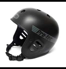 Pro Tec HELMET PROTEC CLASSIC FULLCUT BIKE MATTE BLACK
