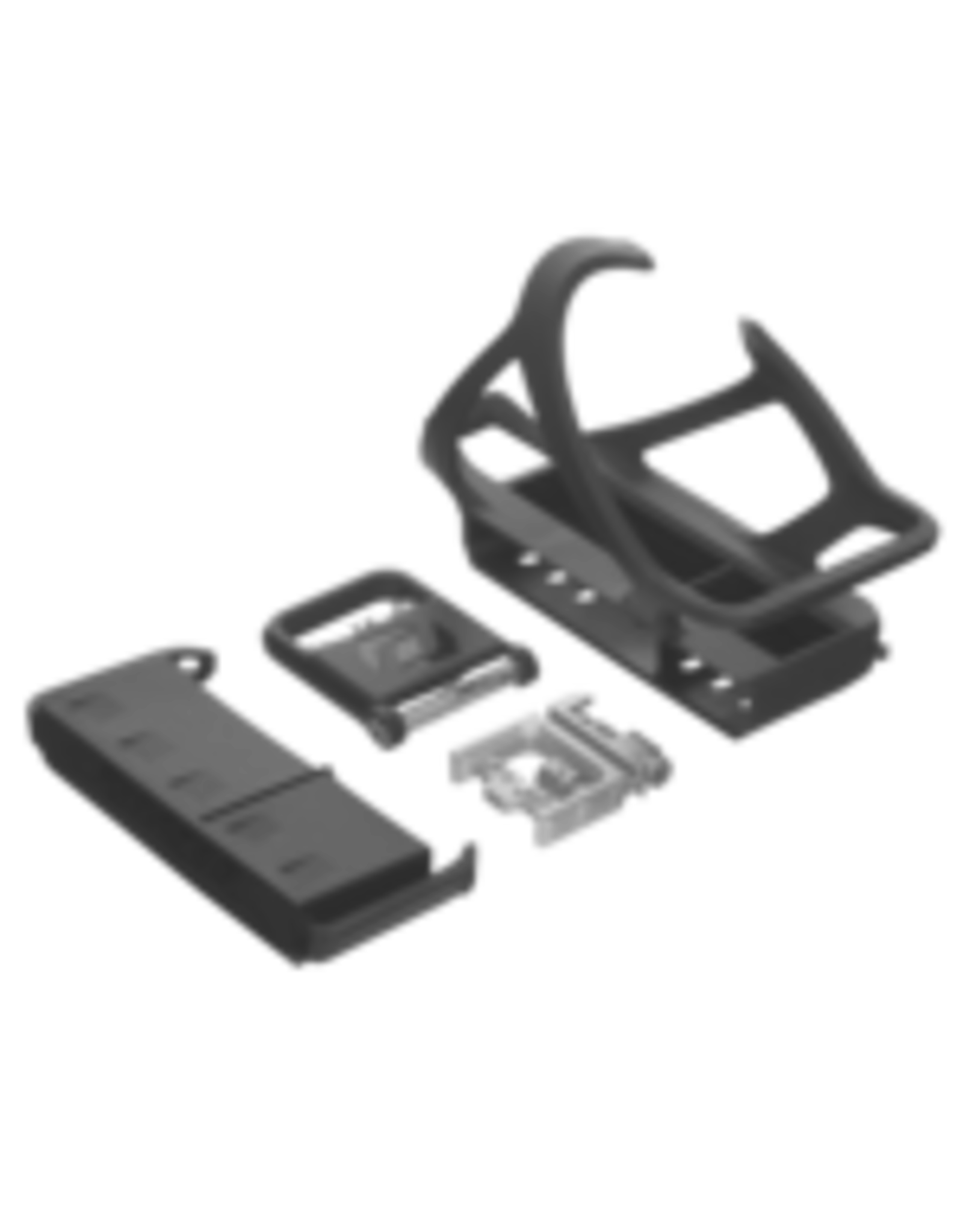 SYNCROS BOTTLE CAGE SYNCROS TAILOR CAGE 3.0 BOTTLE CAGE BLACK - LEFT