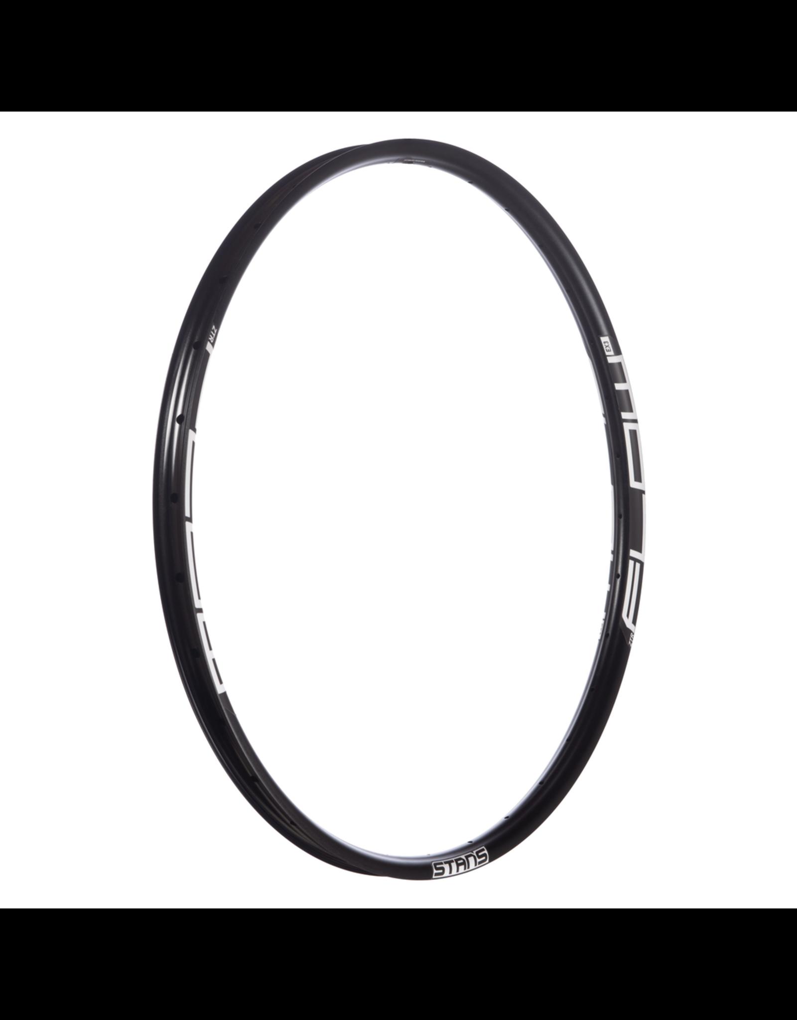 """Stans No Tubes RIM 27.5"""" STANS NOTUBES FLOW EX332H, BLACK DISC ISO ERD 564mm 584x29.0"""