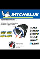 """MICHELIN TYRE MICHELIN E-WILD R COMPETITION GUM-X 27.5x2.8"""" FOLD"""